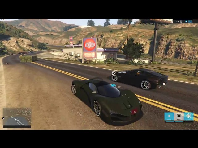 This GTA 5 mod transforms the game with 70 characters, 50 powerups, battle royale elements