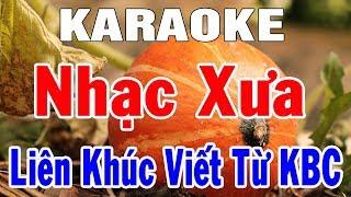 Karaoke Nhạc Sống Bolero Trữ Tình Sến Hòa Tấu   Liên Khúc Nhạc Xưa Hay Nhất   Trọng Hiếu