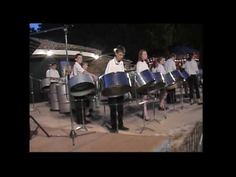 Pansands Allstars Steel Band - South of France Tour - The Hustle