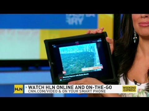 CNN: Natasha Curry takes HLN anywhere