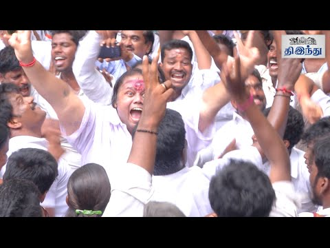 Jayalalithaa Verdict ADMK Cadres Celebrations | Tamil The Hindu