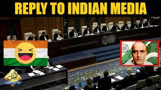 Massive win for Pakistan at ICJ in Kulbhushan case | Reply to Indian Media