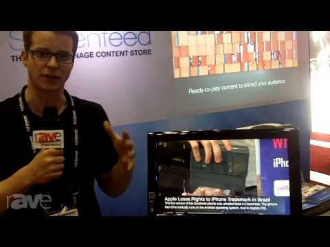 InfoComm 2013: Screenfeed Illuminates Video News Bites