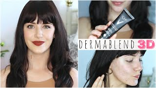 Vichy Dermablend 3D Foundation Review & Tutorial! | Melanie Murphy AD