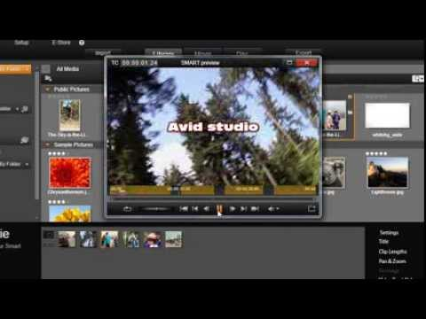16. Editing: SmartMovie and SmartSlide