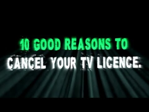 10 Reasons to Cancel Your TV Licence