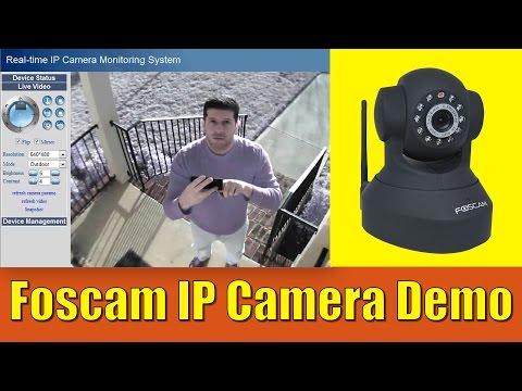 Foscam FI8918W Wireless IP Camera Demo