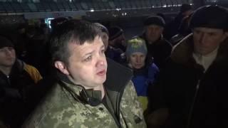 С.Семенченко на Майдане Незалежности 20.02.2017 года.