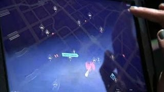 Watch Dogs gameplay premiere on the Sony PS4