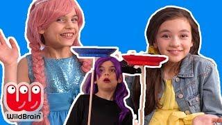 PRINCESS GIANT DARE DICE 🎲- Princesses In Real Life | Kiddyzuzaa Jr - WildBrain