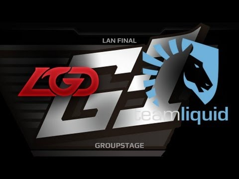 G1 League LAN Final  Groupstage  LGDcn vs Liquid