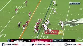2019 American Football Highlights - Maryland vs Temple