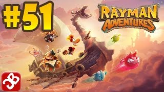 Rayman Adventures (Adventure 115-116) iOS / Android Gameplay Video - Part 51