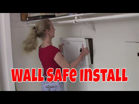 How to install a Wall Safe