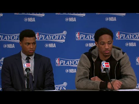 Raptors Post-Game: Kyle Lowry & DeMar DeRozan - April 21, 2016