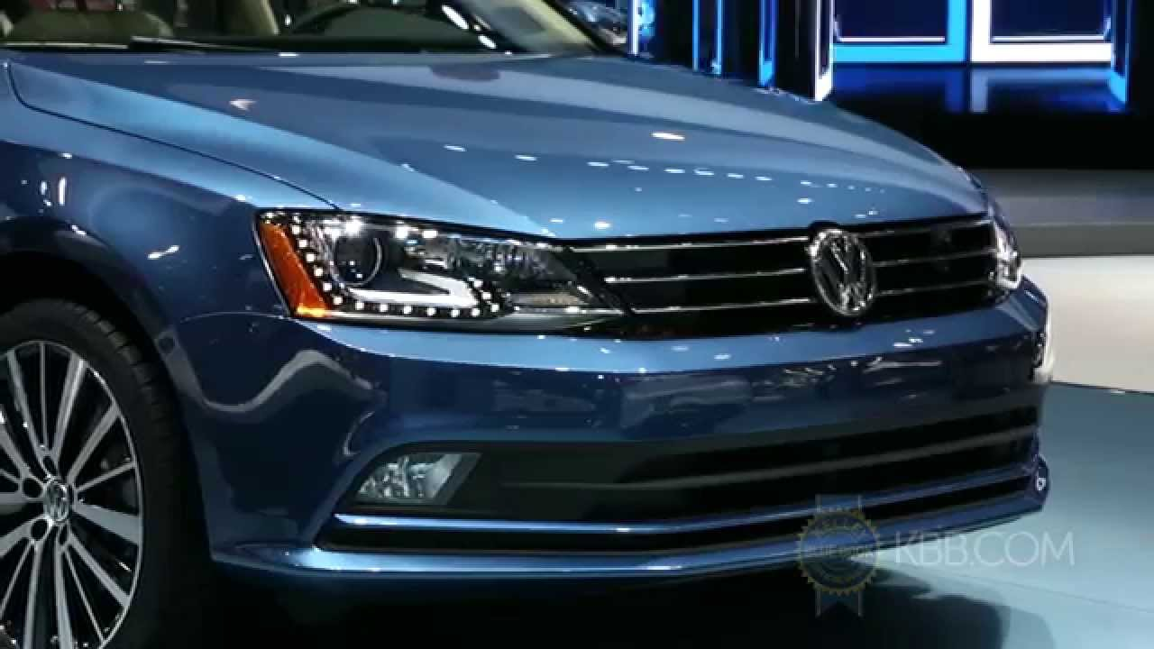 2015 Volkswagen Golf R York >> 2015 VW Jetta - 2014 New York Auto Show - YouTube