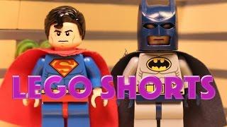 Lego Shorts Episode 1: Bats, Supes, and Mickey Oh My!