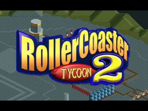 Roller Coaster Tycoon 2: Let's Get Wet - Factory Capers - Miniature Railway (Episode 08 Part 1)