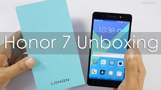 Honor 7 Unboxing & Hands On Overview