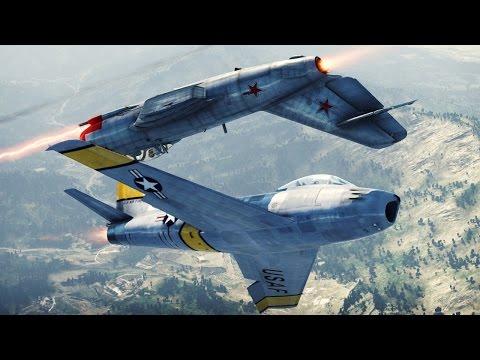 Реактивная авиация - War Thunder. Обучение, часть 17