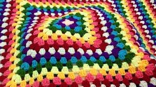 Hướng dẫn móc chăn len - Crochet blanket
