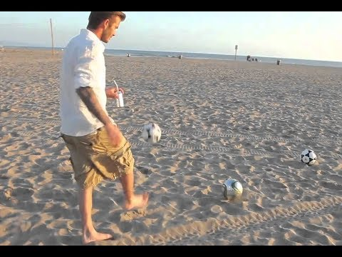 Football Soccer trick shots. UNBELIEVABLE!