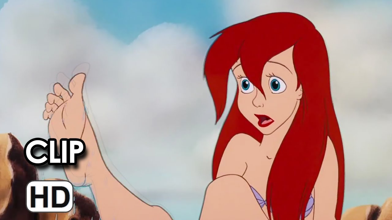 the little mermaid diamond edition movie clip something