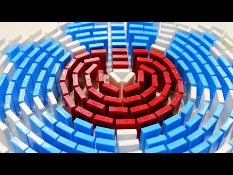 300,000 Dominoes FALLDOWN - Turkish Domino Record! (Pt. 2)