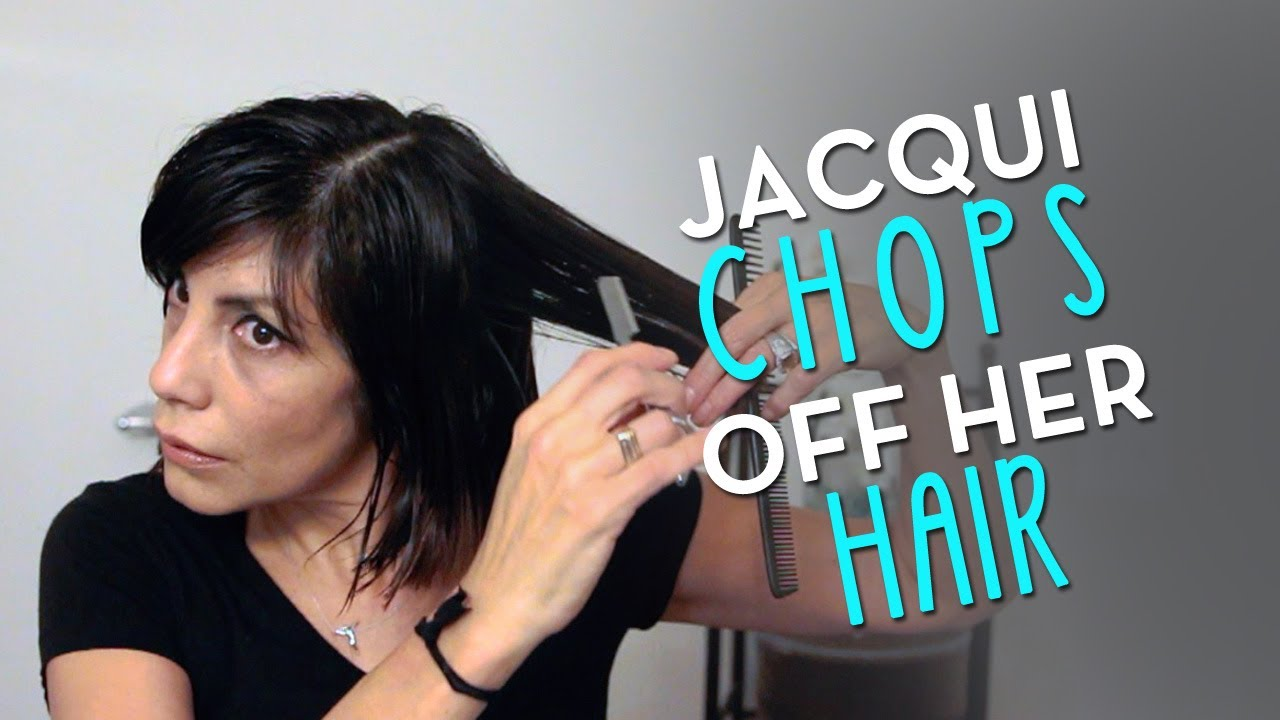 Choppy Bob 2014 By Jacqui Davis From Long To Short Hair
