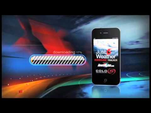 Colo5 Sponsors Just Weather Hurricane Tracker App
