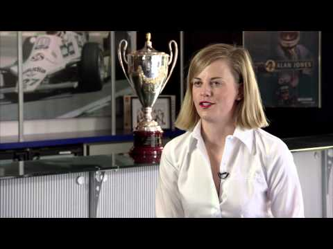 Susie Wolff, Williams, talks about her career