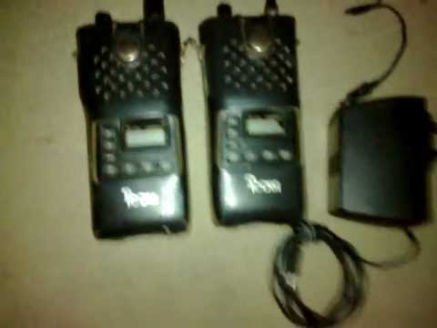 icom pmr radios on you tube