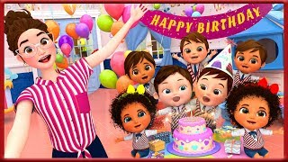Happy Birthday Song ,Baby Shark , Finger Family Song , Bingo Dog Song , Wheels on the Bus [HD]