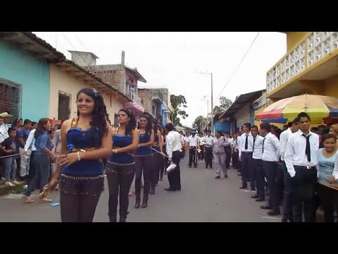 Ilobasco 15 de Septiembre 2012 - Colegio M. Braspenning e  INDI - HD