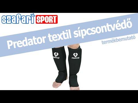 Predator textiles fekete sípcsontvédő termékbemutató videó