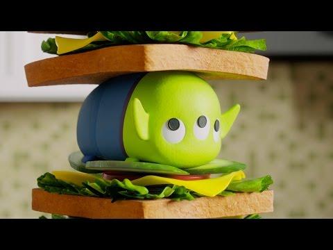 Sandwich Tower Tsum Tsum Shorts Season 3 Disney