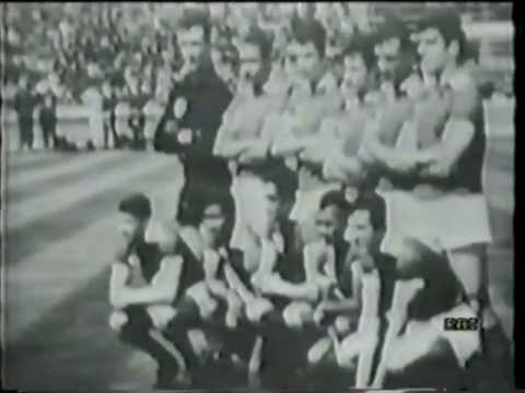 RARE 1963 European Cup Final: AC Milan - SL Benfica (italian) - Full game