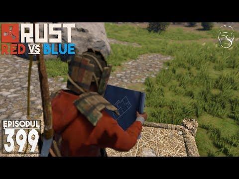 Rust: Red VS Blue | Ne grabim să facem o bază! [Un mic Proiect]