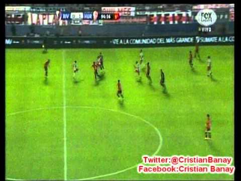 Huracan 1  River 0 (Relato Gustavo Vergara) Supercopa Argentina 2015