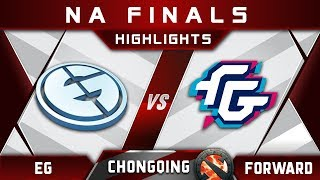 EG vs Forward NA Finals Chongqing Major 2018 Highlights Dota 2