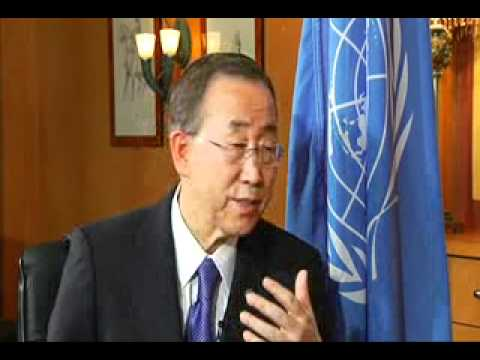 SABC interview with UN SG Ban Ki Moon at COP17
