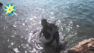 شاهد أغرب مسابقة غطس للبحث عن الكنز فى عمق البحر بدهب بجنوب سيناء