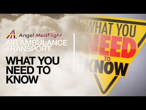 Air Ambulance Transport: What You Need to Know | Angel MedFlight