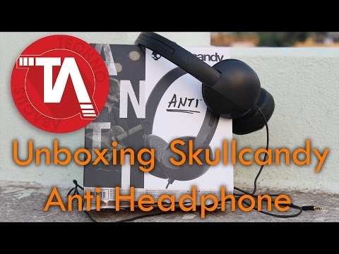 Skullcandy Anti Headphone Unboxing | Review to be given soon | Budget Headphone