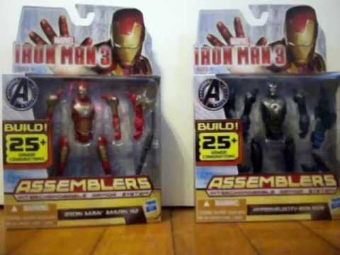 Iron Man 3 Assemblers Interchangeable Armor System Toy Review