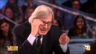"""Vittorio Sgarbi: """"Ho visto tutti i bunga bunga, una donna che andava ad Arcore diventava puttana"""""""