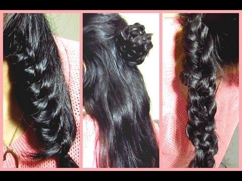3 peinados faciles y rapidos youtube - Peinados faciles y bonitos ...