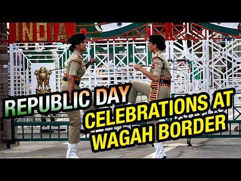 Republic Day Celebrations at Wagah Border (26-01-2015)
