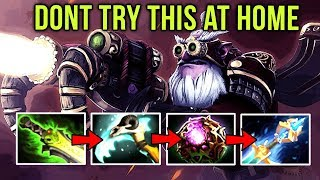 DONT TRY THIS AT HOME! Sniper EPIC Counter on PA Full Magic Item WTF Build - Enough Dota 2 for today