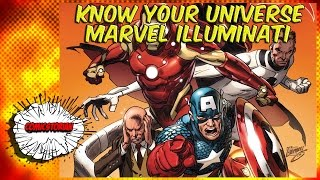 Marvel Illuminati (All Your Favorites!) - Know Your Universe